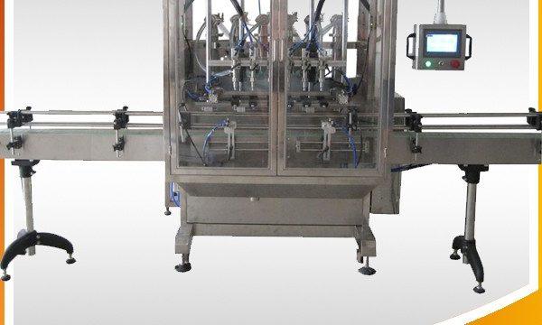 自動橄欖油和奶油和液體灌裝機