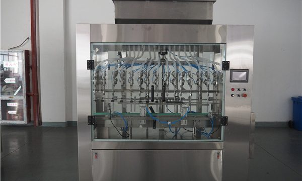 自動12頭大氣壓液體灌裝機