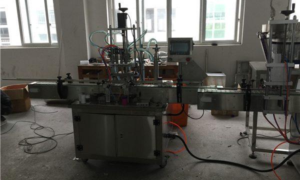 自動活塞式液體灌裝機50ml至1L