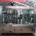 油/純淨水自動不銹鋼液體灌裝機