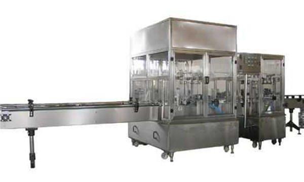 全自動液體肥皂灌裝生產線
