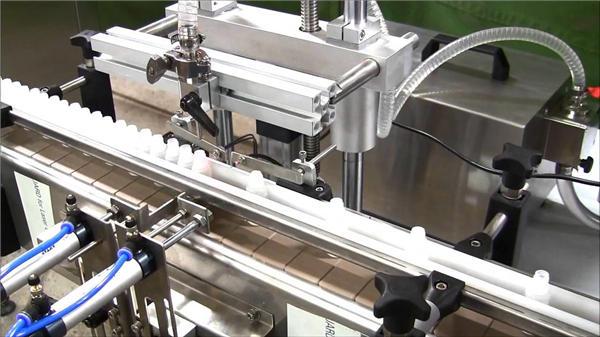 高速自動電子液體灌裝機