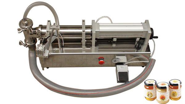 半自動高粘度液體蜂蜜灌裝機