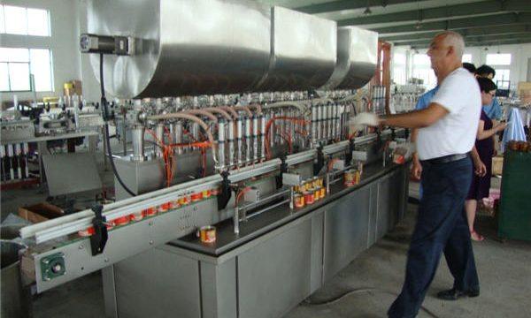 200-1000ml自動醬油灌裝機