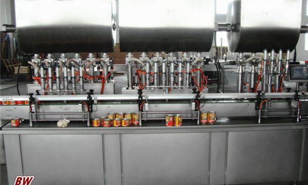 自動熱比薩醬灌裝機