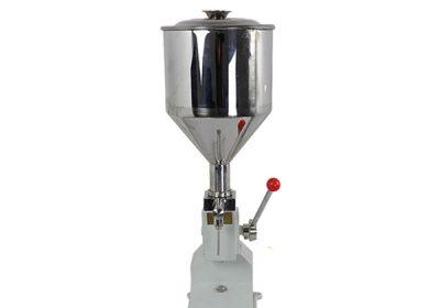 小型手動奶油灌裝機