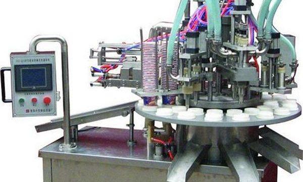 自動化妝品軟膏/奶油灌裝機