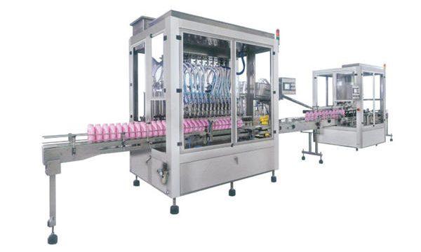 不銹鋼自動洗滌劑灌裝機