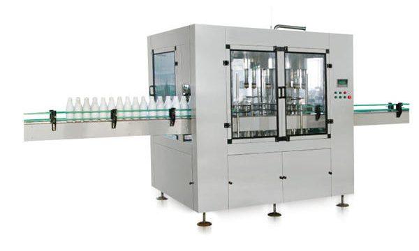 八頭自動線性活塞液體皂灌裝機