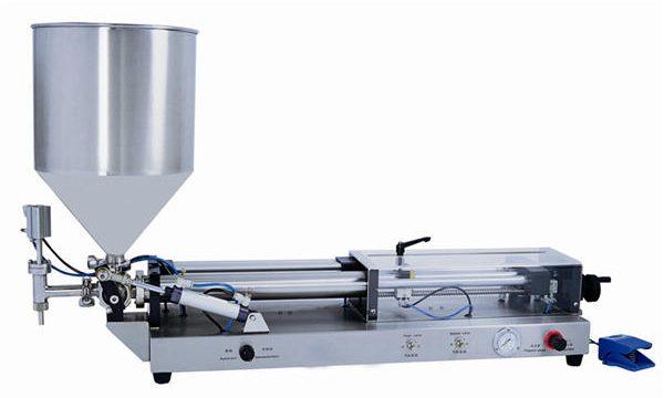 半自動膏體灌裝機,適用於3mL-5L