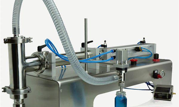 高品質半自動活塞式灌裝機新設計