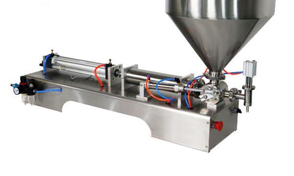 半自動活塞式厚醬料灌裝機
