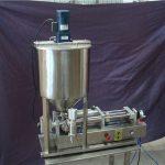 2頭半自動液體灌裝機